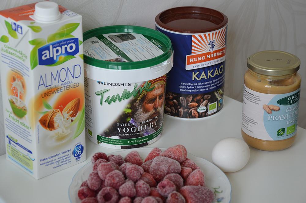 smoothie med turkisk yoghurt